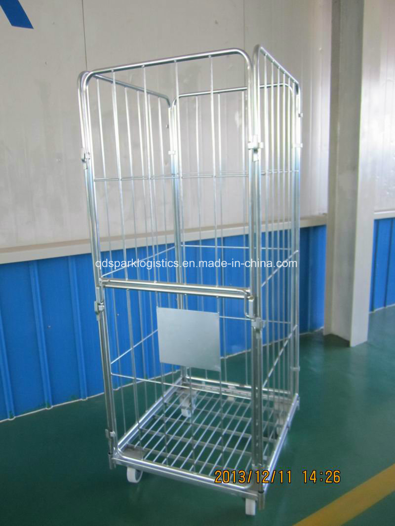 Storage Cage - China Wire Mesh Container, Roll Container ...