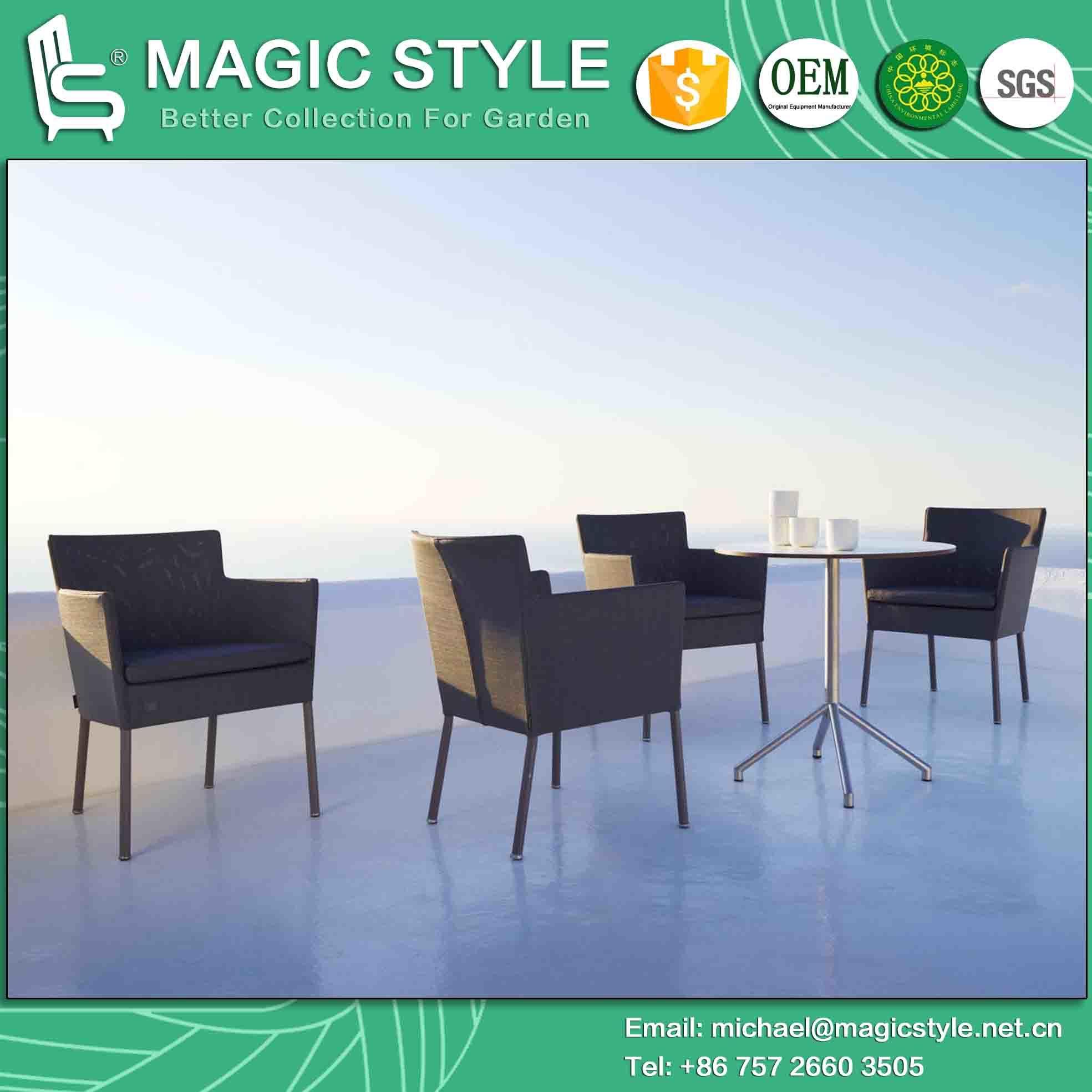 China Enjoy Dining Set Sling Chair Garden Furniture Textile