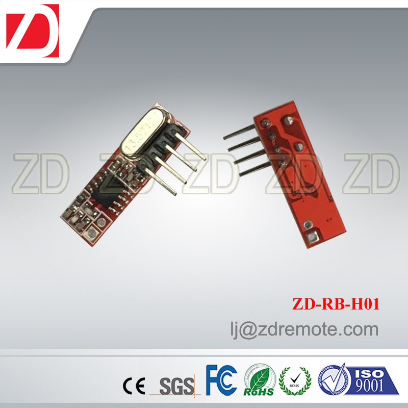 Best Price Superheterodyne 433MHz RF Receiver Module for Motorcar Alarm System Zd-Rb-H03