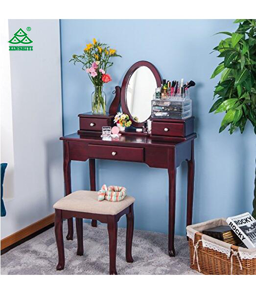 Awesome China Merax Vanity Set With Stool Dressing Make Up Table Bralicious Painted Fabric Chair Ideas Braliciousco