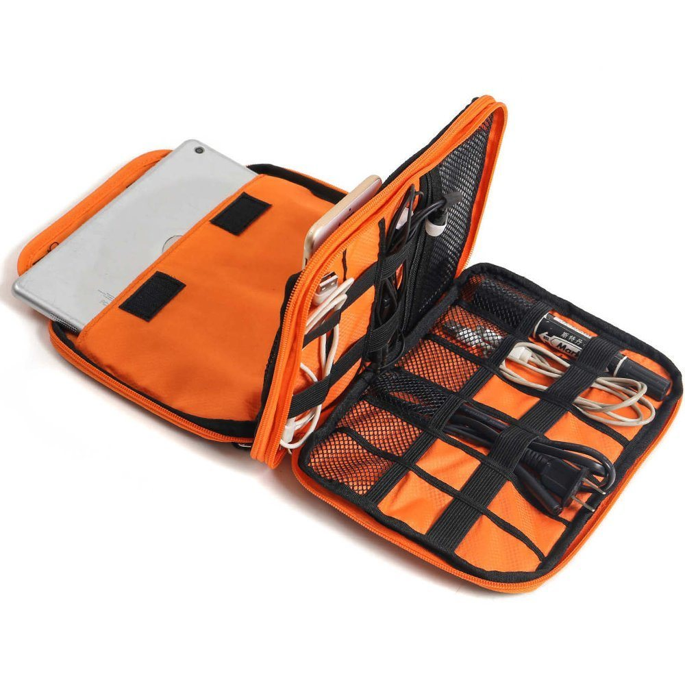Portable Travel Digital Electronics Accessories Storage Bag Cable Organizer