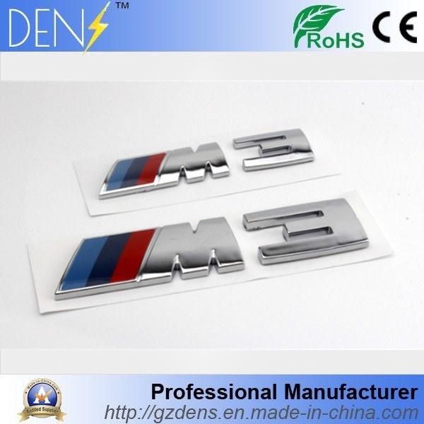 China Abs Car Auto Parts Emblem Badge For M3 M5 China M3 Badge