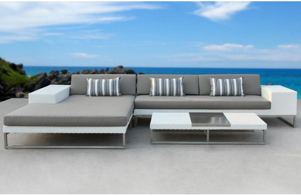 China Modern Wicker Outdoor Sofa Set, Outdoor Modern Furniture