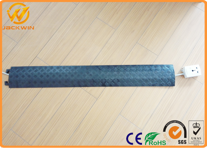 China PVC Indoor Yellow Cover 1 Channel Floor Cable Wire Protector ...