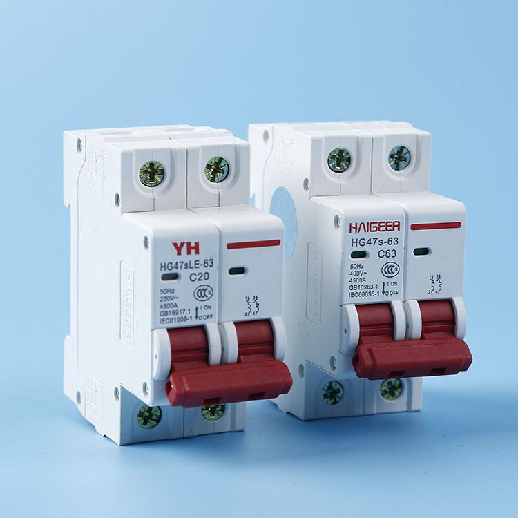 China Factory Manufacture Full Range Circuit Breaker 3 Phase MCB ...