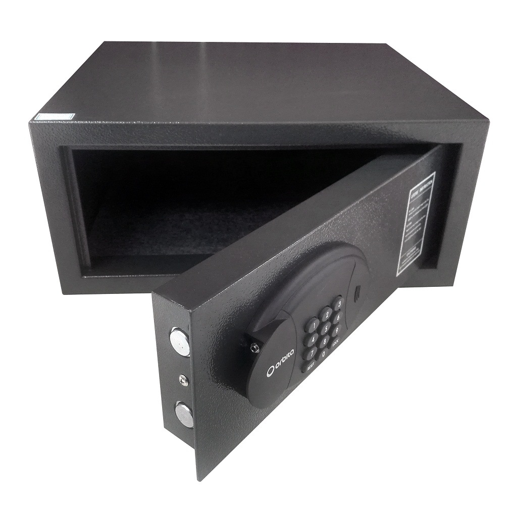 Orbita Black Two Kesafe Box Jewellery Safe Deposit Metal Boxes with Touch Panel pictures & photos