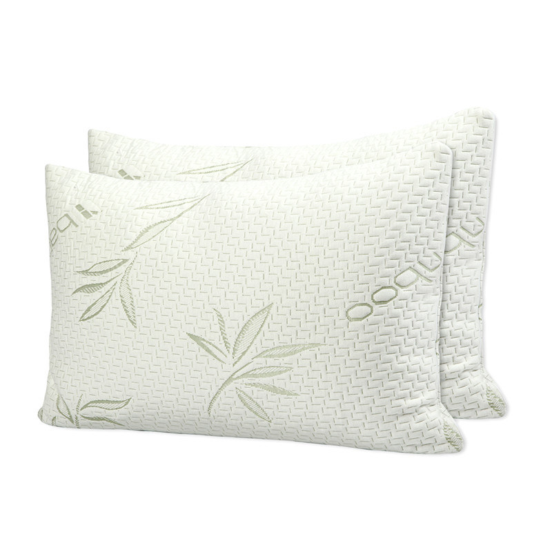 China Bamboo Cover With Shredded Memory Foam Pillow China Bamboo