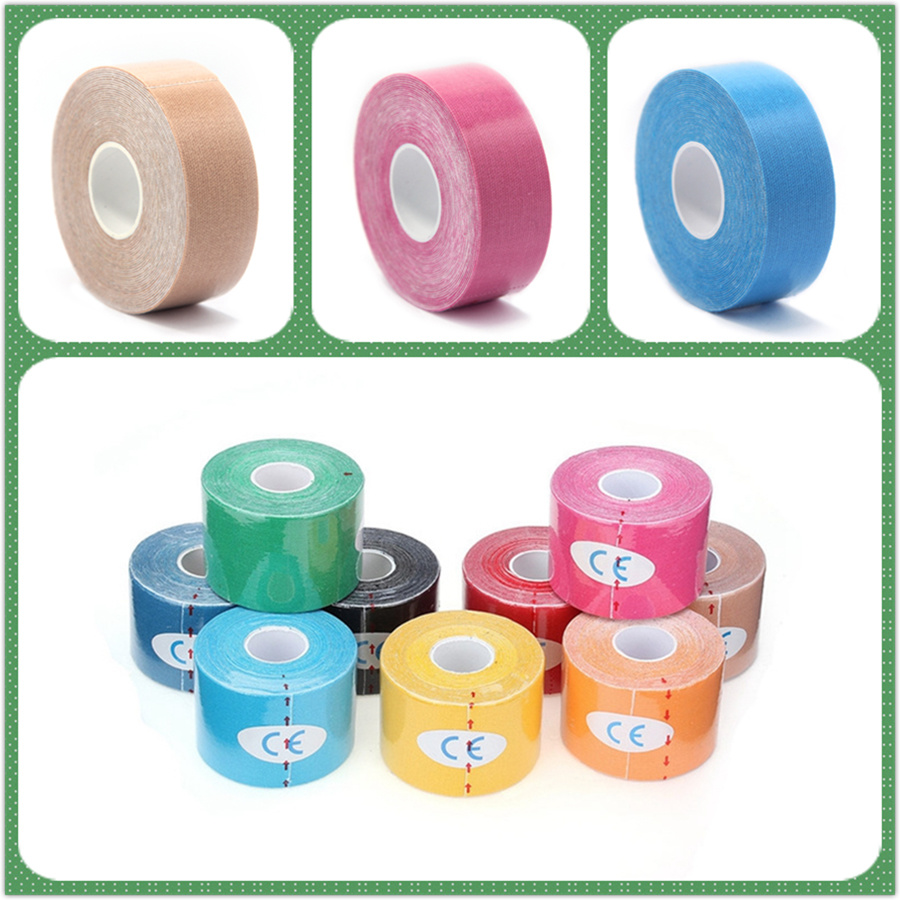 Objective 2019 New Security Protection Waterproof Self-adhesive Cshesive Bandages Elastic Wrap First Aid Sports Body Gauze Medical Tape Firm In Structure Security & Protection