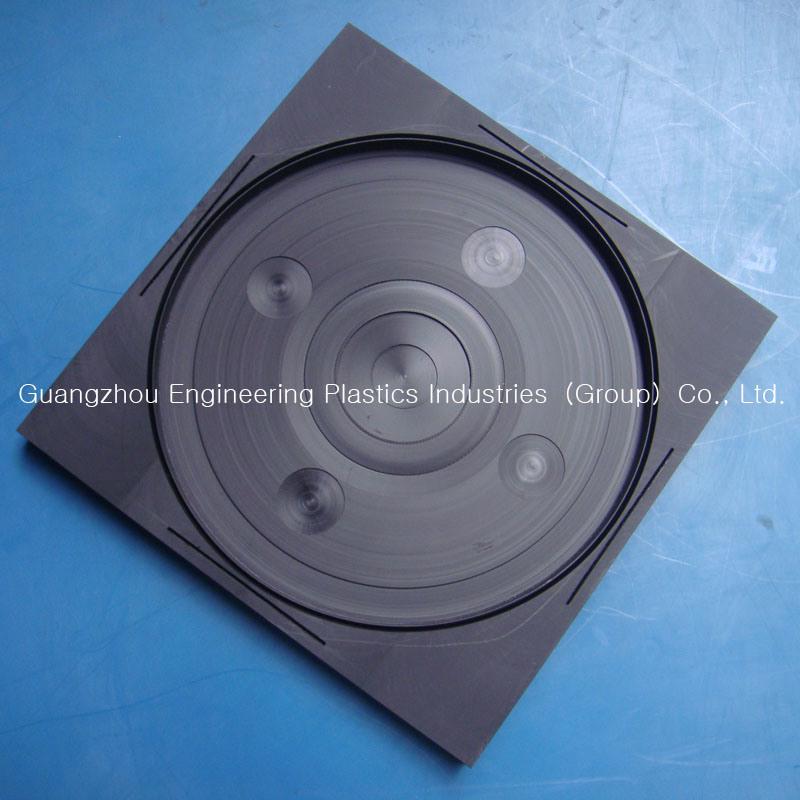 10 mm NYLON6 Cast sheet 100 mm x 100 mm Engineering Plastic Plate
