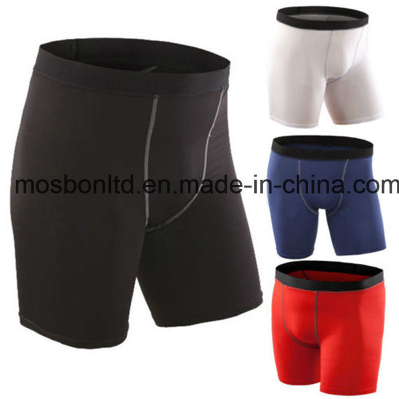 Men′s Sports Gym Compression Shorts with Good Quality