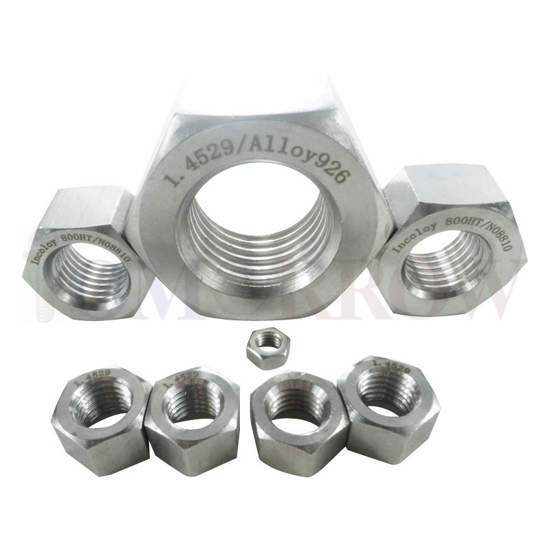 Hot Selling Exotic Alloy Incoloy 800ht Hex Nut