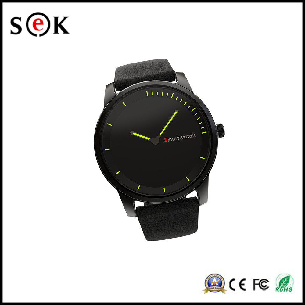 IP68 35m Real Waterproof Bluetooth Quartz Smart Watch