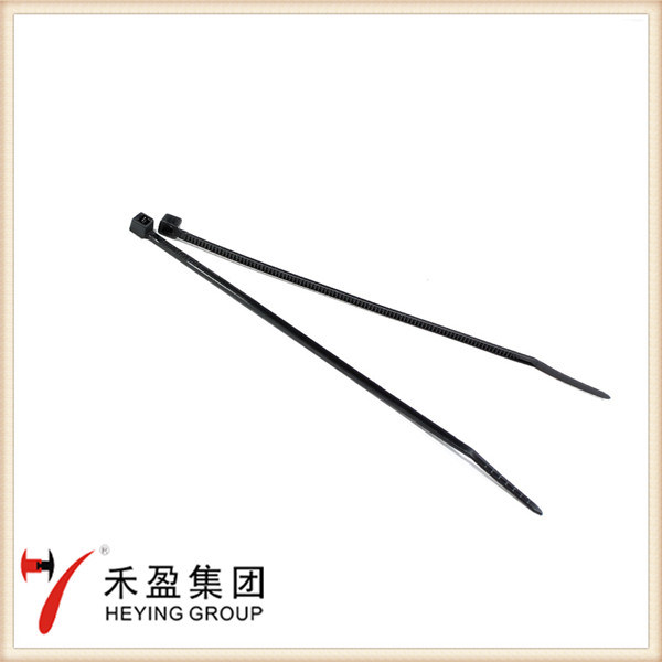 Natural Black Colour Nylon Cable Tie with Self-Locking
