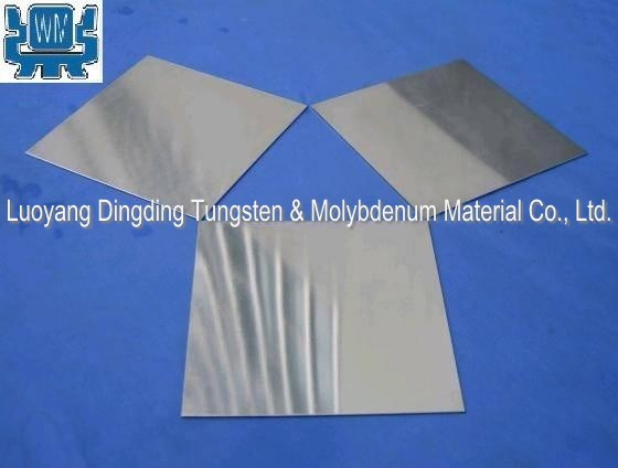 Pure Molybdenum Sheet for Sapphire Crystal Growth Vacuum Furnace