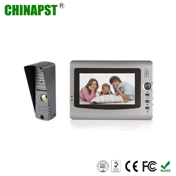 China Outdoor Station 7 Inch Handfree Wire Video Door Intercom PST VD973C