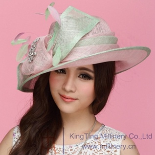 4496a2bd5 [Hot Item] Woman Church Hats and Sinamay Hats for Young Ladies