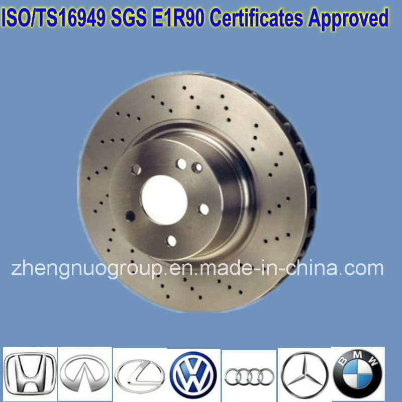 Ts16949 Approved Brake Discs for Cars pictures & photos