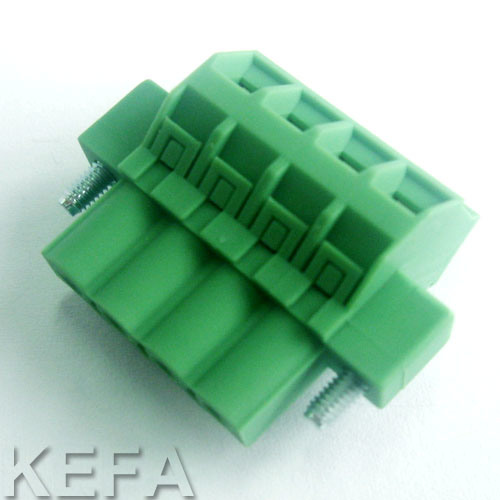Screw Plugable Terminal Block pictures & photos