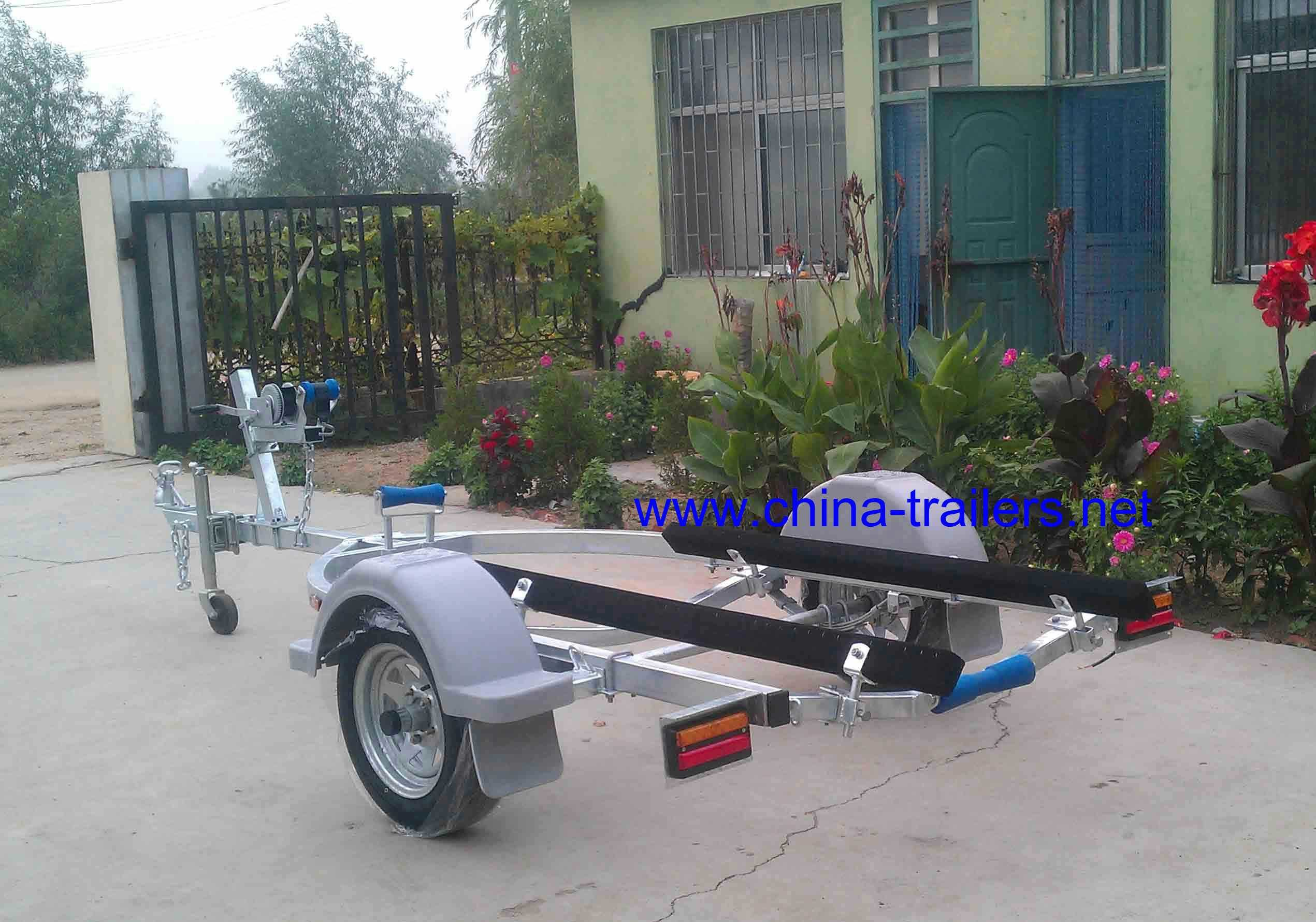 Single Axle Jet Ski Trailer
