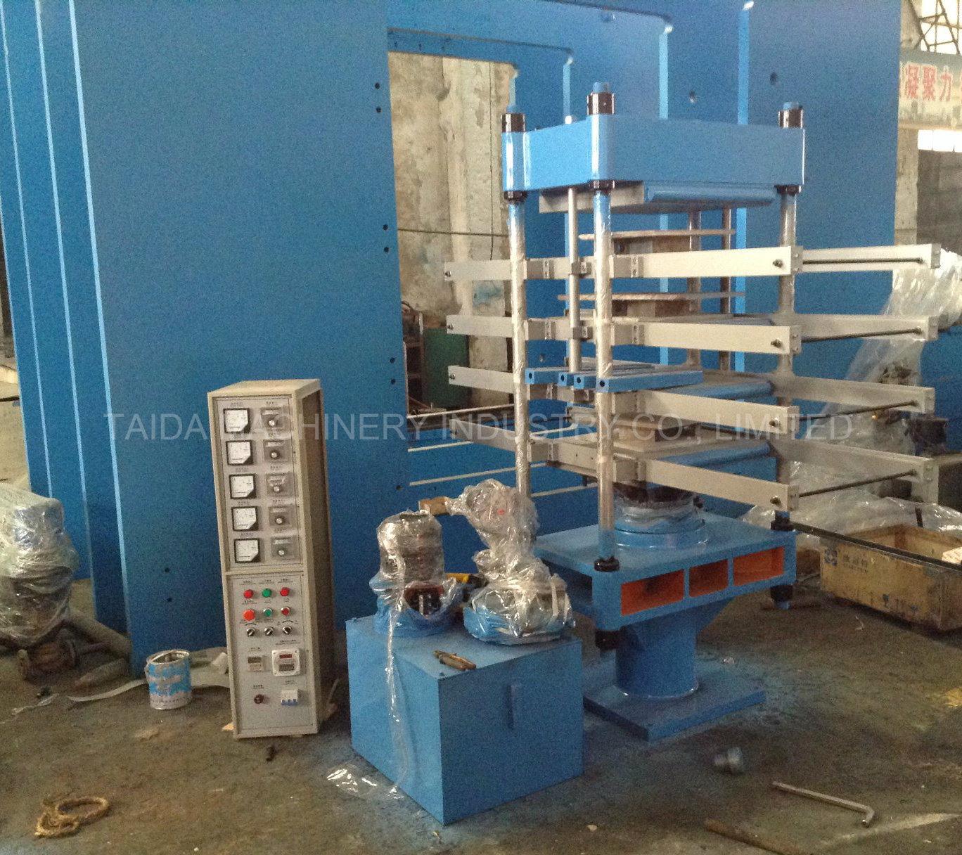 China Various Rubber Floor Tile Making Machine Hydraulic Vulcanizing