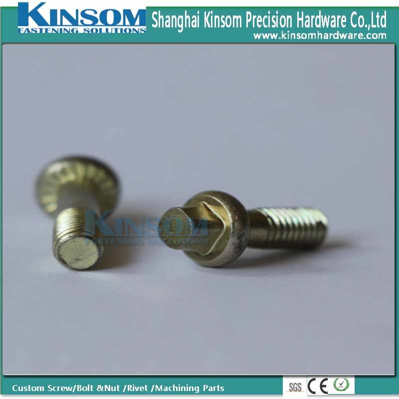 Double Thread Bolt with Six Lobe Head Stud pictures & photos