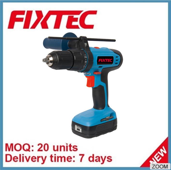 China Fixtec 18v 13mm Li Ion Cordless Impact Drill Driver Fcd18l01 Tool