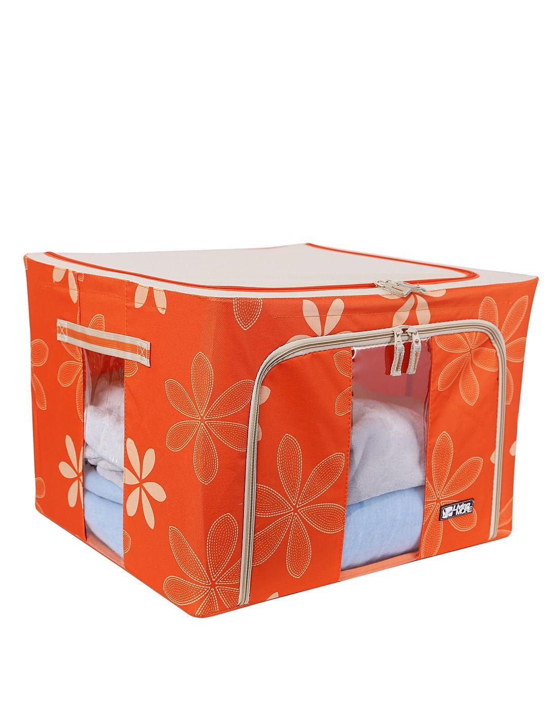Hot Item Fabric Bedclothes Origanizer Bag For Quilt And Blanket Storage