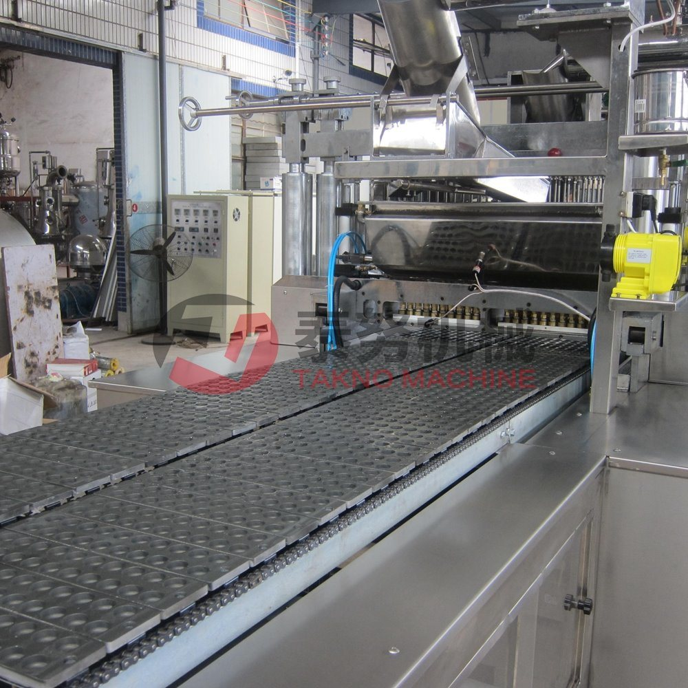 Automatic Hard Candy Depositing Line Candy pictures & photos
