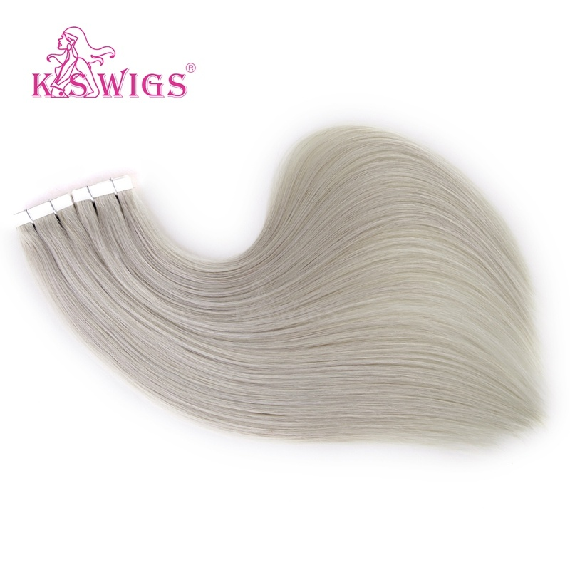 K. S Wigs Top Grade Virgin Remy Hair Tape Hair pictures & photos