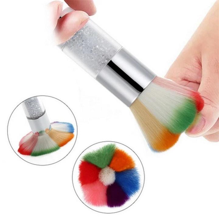 China 2018 New Design Nail Dust Cleaning Brush Nail Art Brush ...