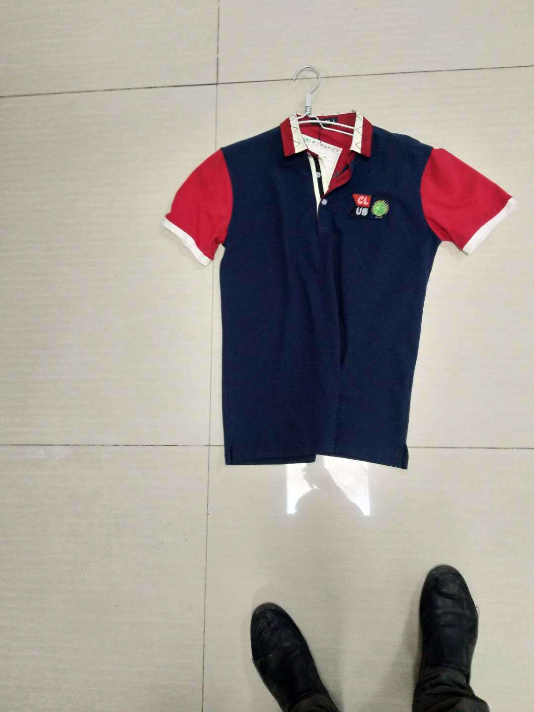 China Factory Offer Custom Cotton Polyester Blend Polo T Shirt Blank