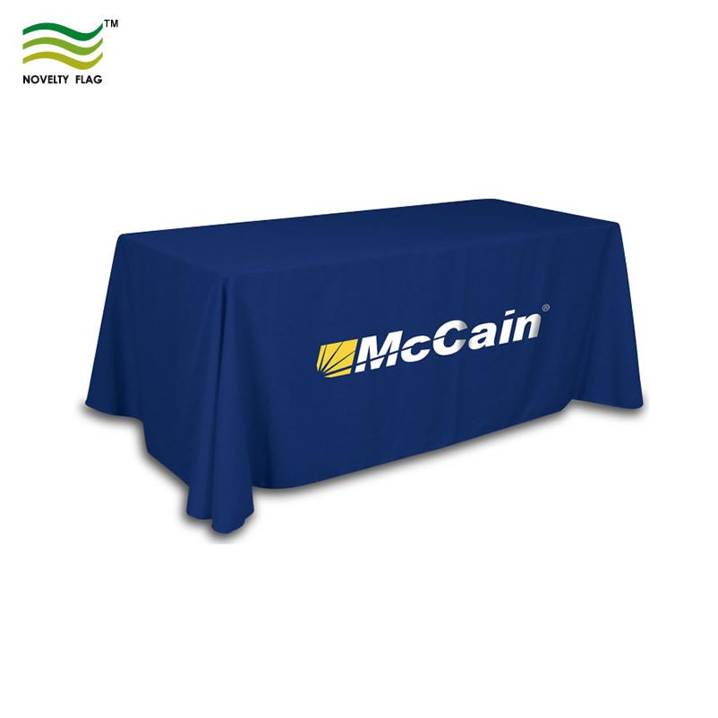 Logo Printing Polyester Table Cloth