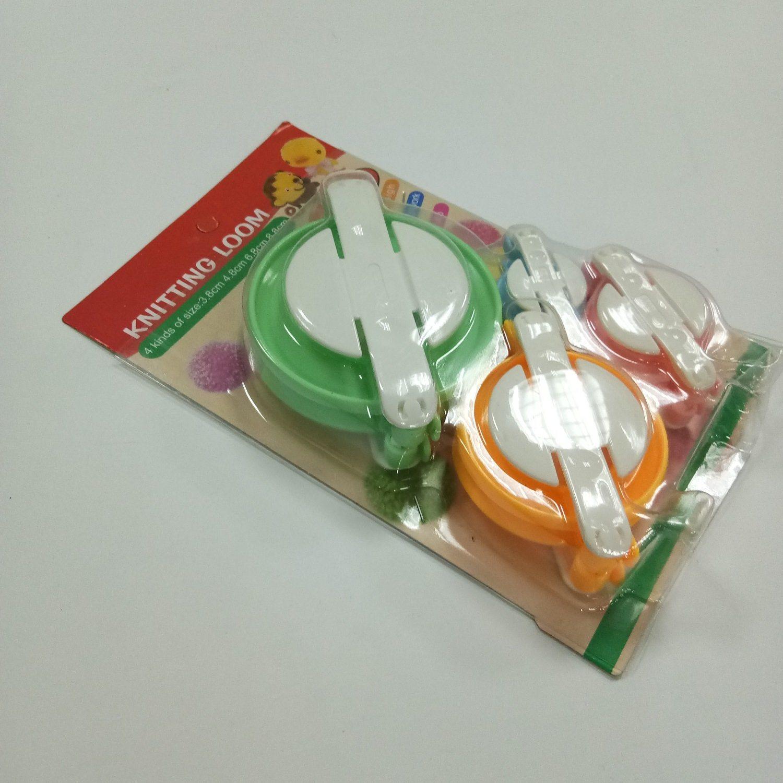 China 4 Sizes Diy Needle Craft Fluff Ball Weaver Knitting Loom