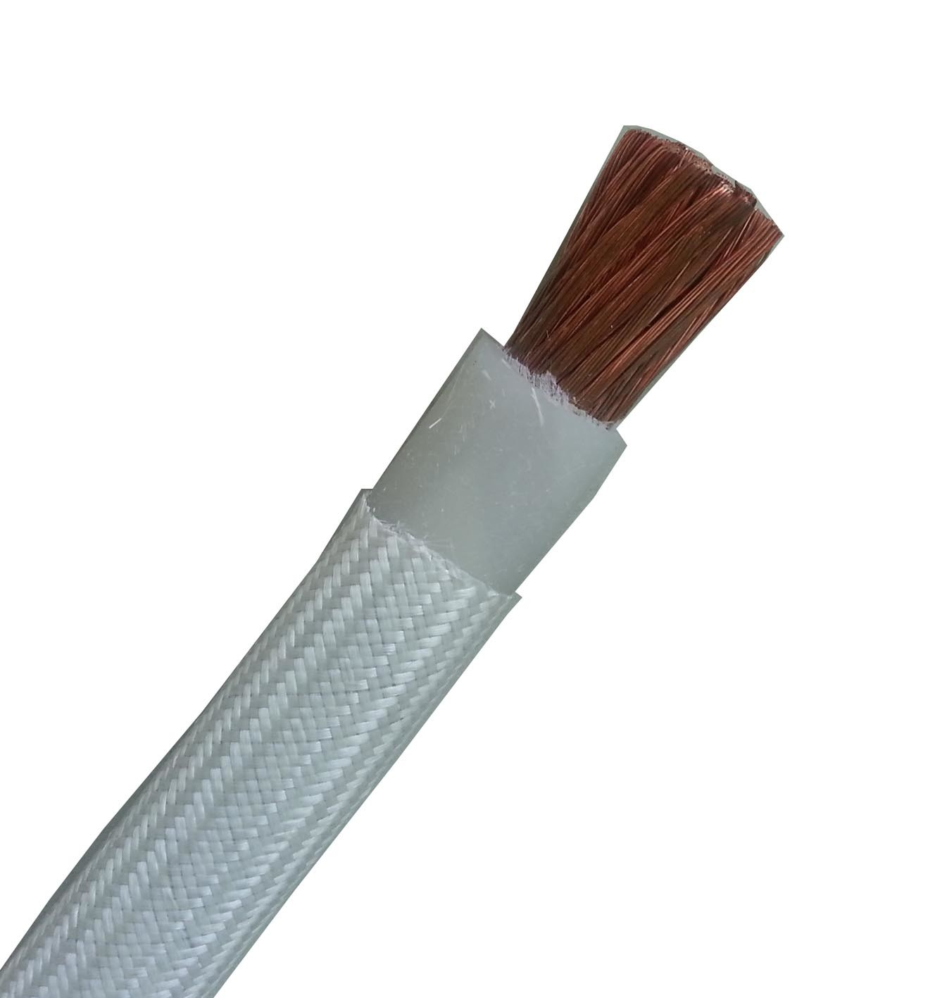 Glass Fiber Braid Silicone Rubber Wire