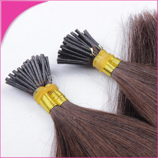 Wholesale #1b Pre Bond Stick I Tip Human Hair Extensions