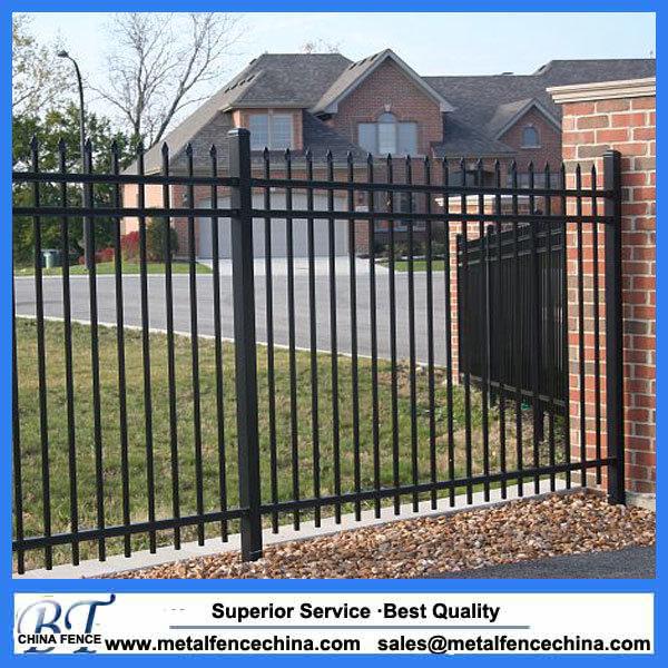 Iron Metal Garden Fence Panels