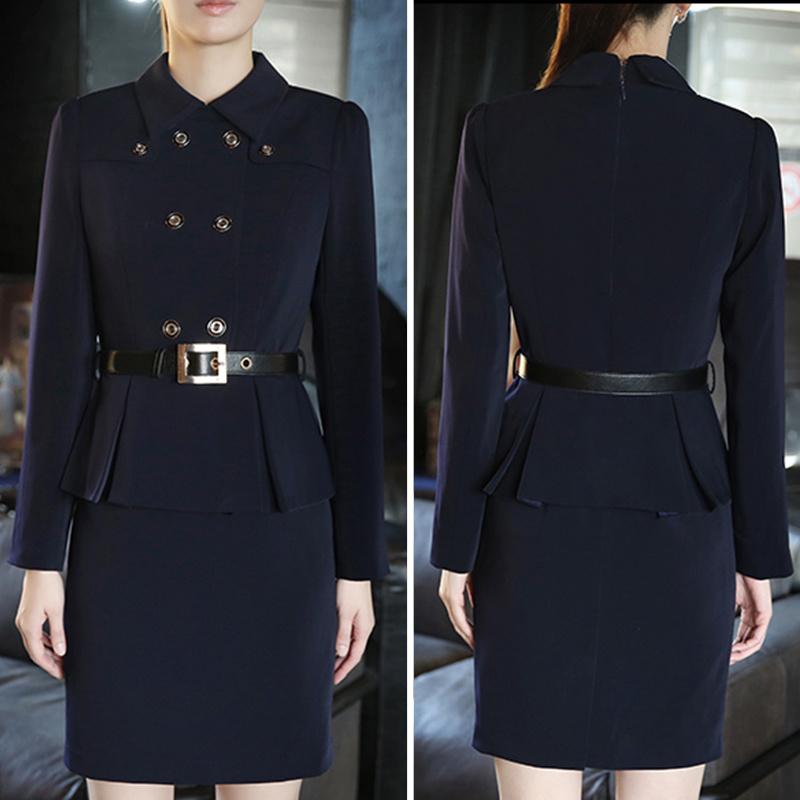 China Western American Office Lady Wear Latest Dress Formal Dress