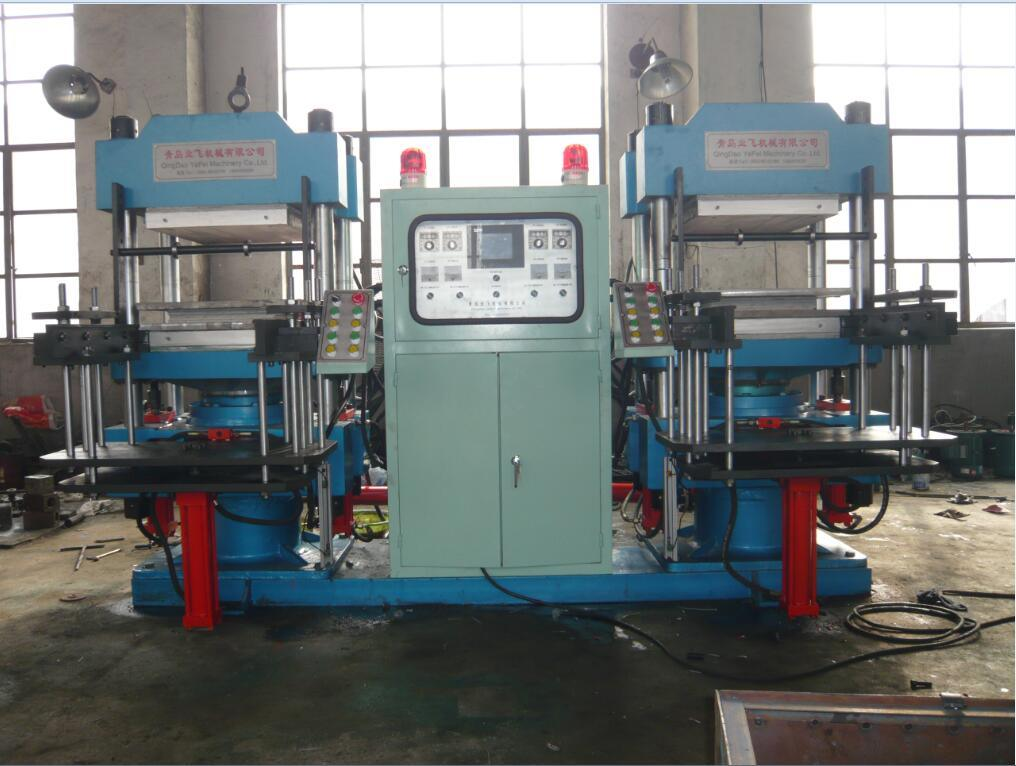 Plate Hydraulic Press /Rubber Tile Vulcanizing Machine pictures & photos