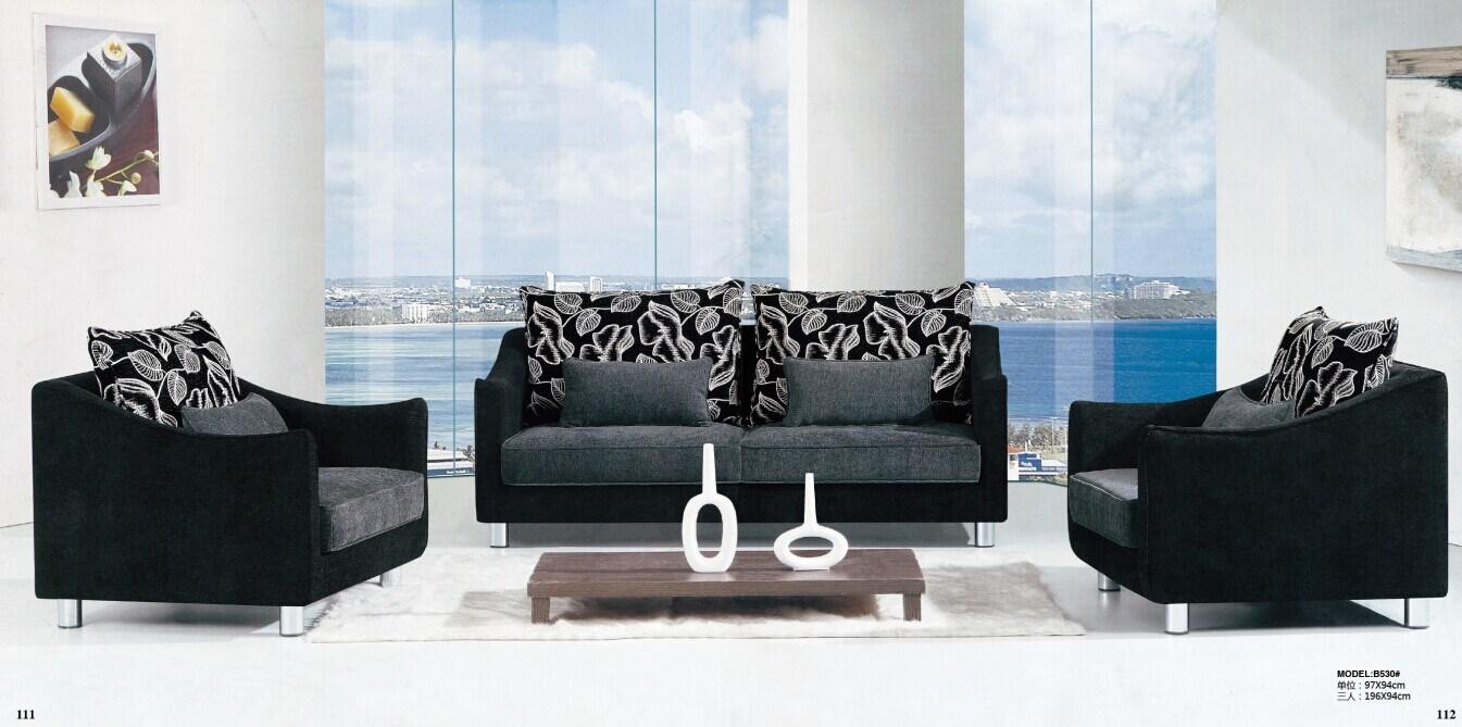 China Sri Lanka Fabric Sofa Set L Md530 China Sofa Fabric Sofa