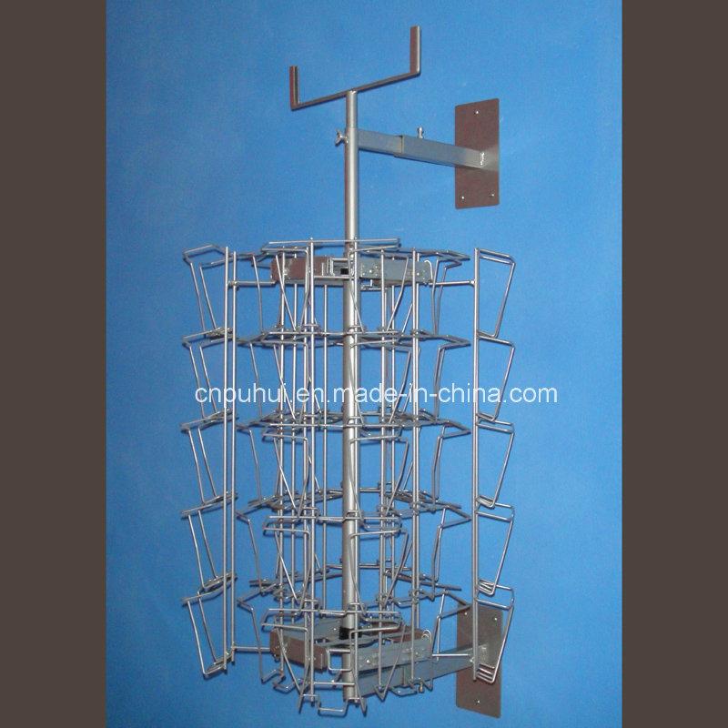 China Metal Wire Wall Mounted Card Rack (pH16-366) - China Wall ...