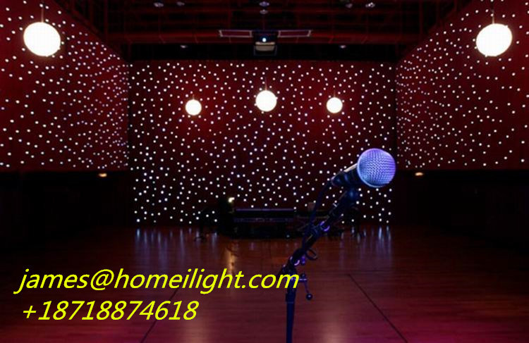Hot Item Best Er Ceiling Star Curtain Light With Led Bulb In Stage Lighting Effect