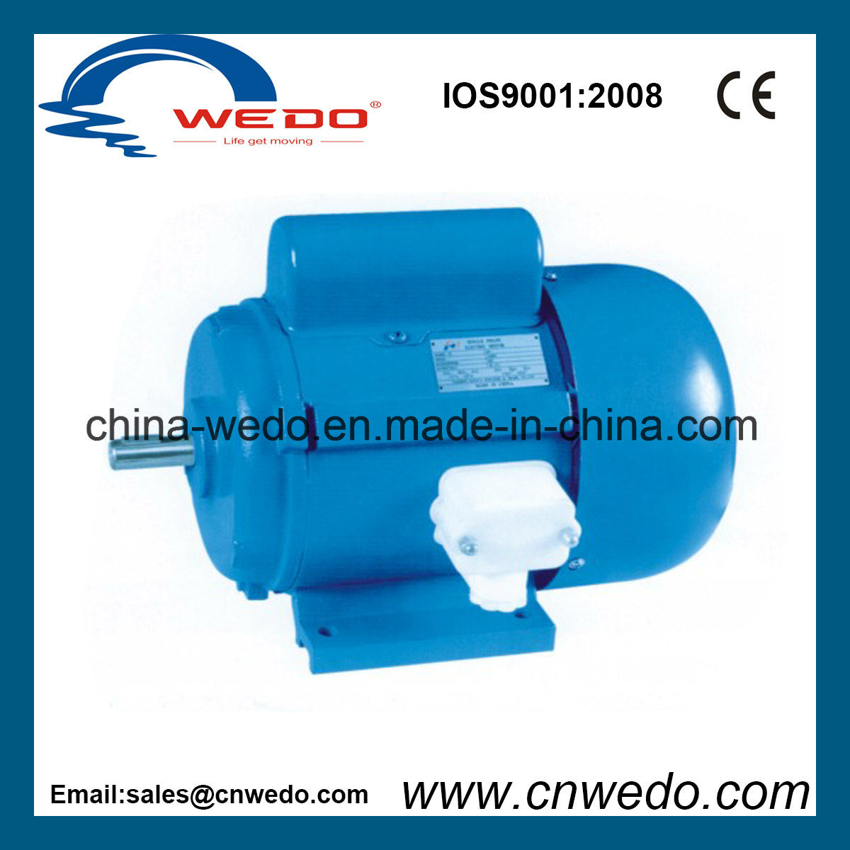 China Jy Series High Quality Single Phase Induction Motor (0.18-1.1 ...