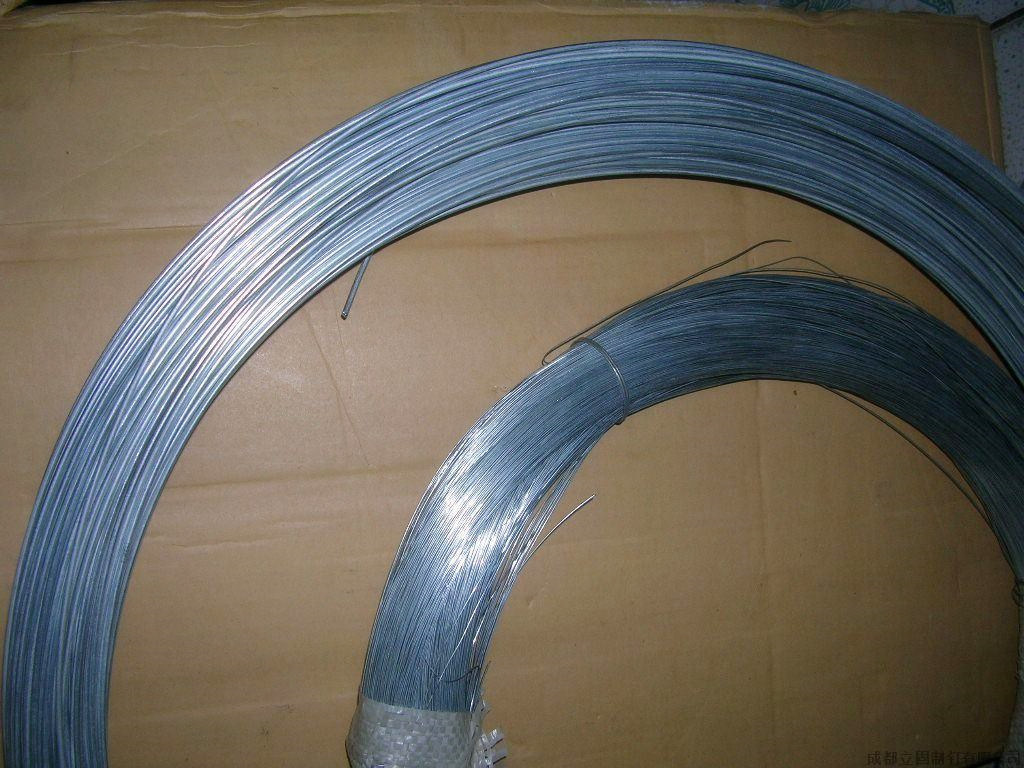China High Zinc Coated Galvanized Low Carbon Steel Wire/Hot Dipped ...