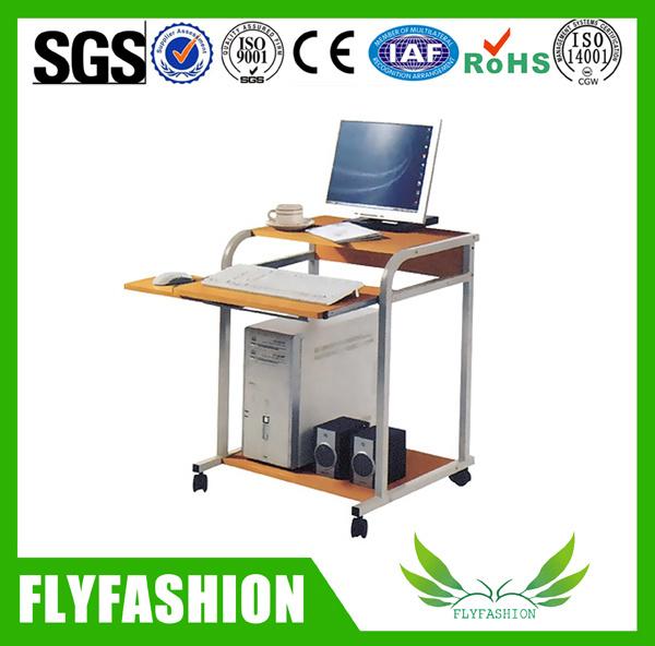 China Simple Design Cart Computer Desk, Computer Desk Wheels