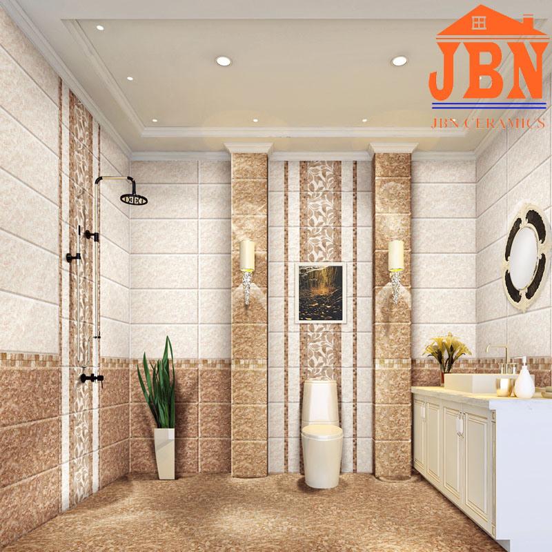 China 300x600mm 3d Inkjet Glazed Ceramic Bathroom Wall Tile