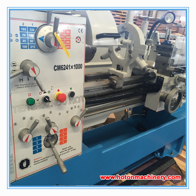 Universal High Precision Metal Horizontal Gap Bed Turning Lathe (CM6241 ) pictures & photos