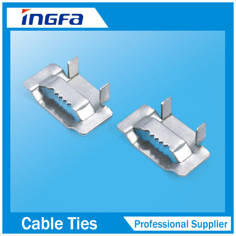China 304 316 Stainless Steel Tooth Buckle for Banding Strapping ...