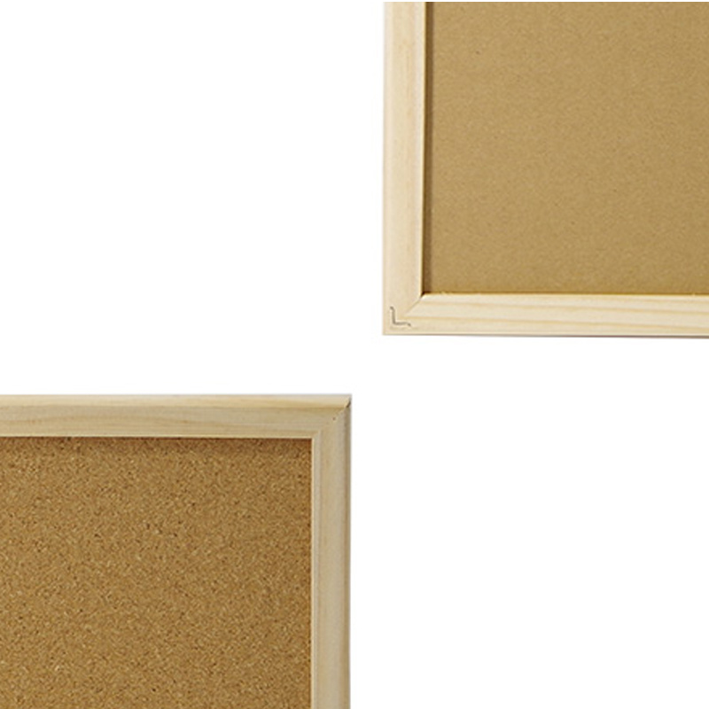 China Pine Wooden Frame Bulletin Notice Corkboard Photos & Pictures ...