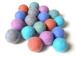 Factory Price Organic Cotton Wool Balls Felt Dryer Ball pictures & photos