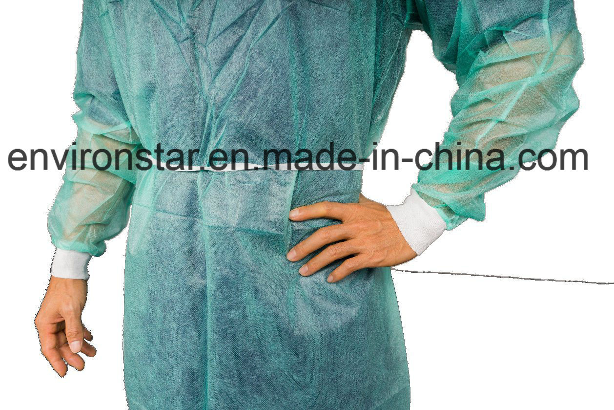 China Best Selling Products Disposable Antistatic PP Isolation Gowns ...